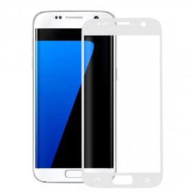 Pellicola protezione full schermo bordi Bianco Samsung Galaxy S7 G930F in TPU