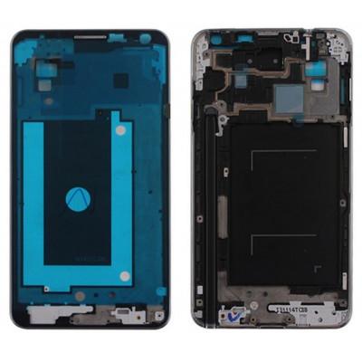 Frame Telaio Scocca Cornice Silver Centrale per Samsung Galaxy NOTE 3 N9005