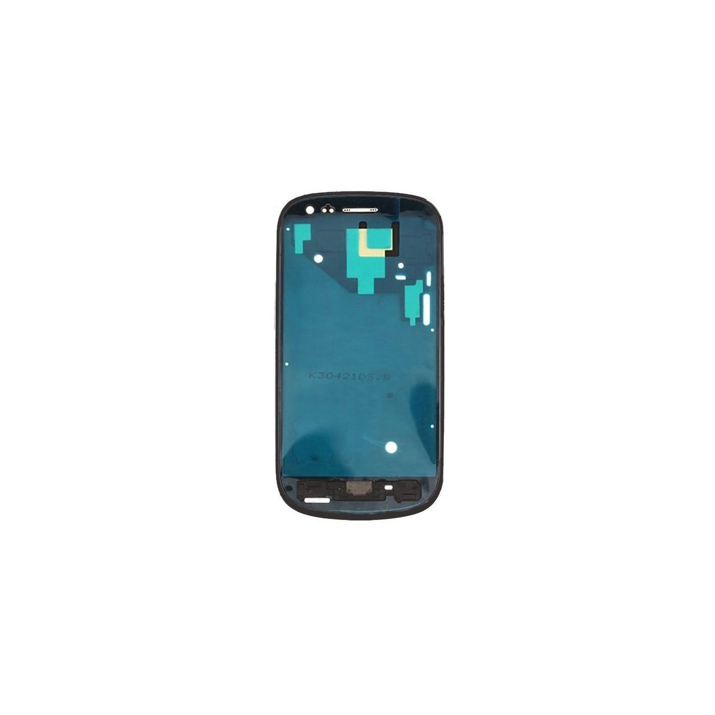 Frame Telaio Scocca Samsung Galaxy S3 mini I8190 nero Cornice Centrale
