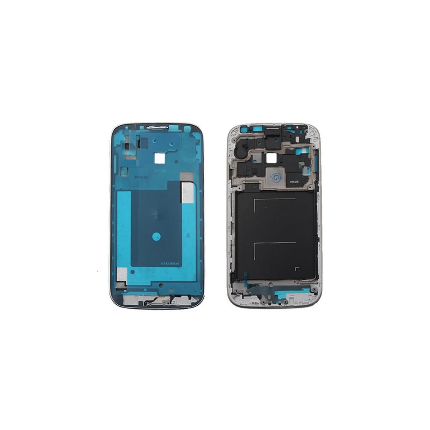 Frame Telaio Scocca Cornice Centrale per Samsung Galaxy S4 I9505 con biadesivo
