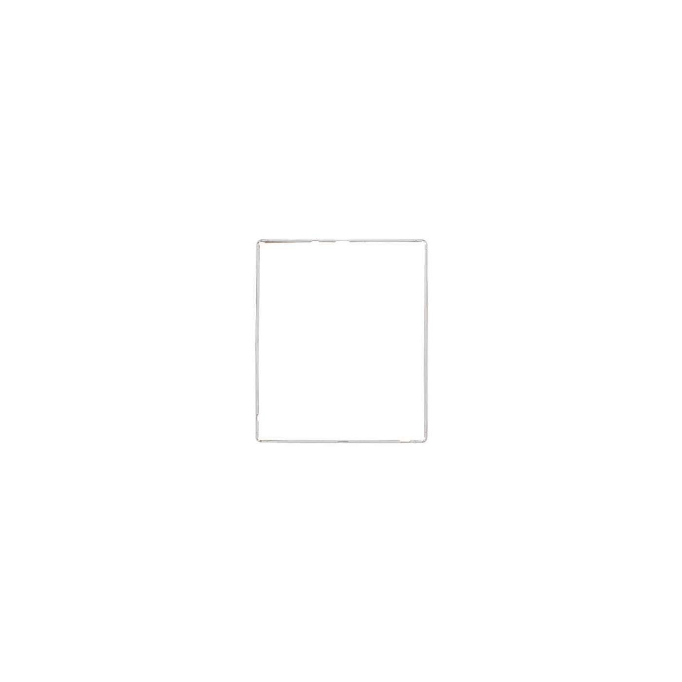 Cadre pour numériseur d'image pour ipad 3 4 blanc avec adhésif