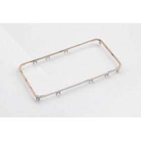 Cornice digitizer frame per iphone 4 bianco con adesivo