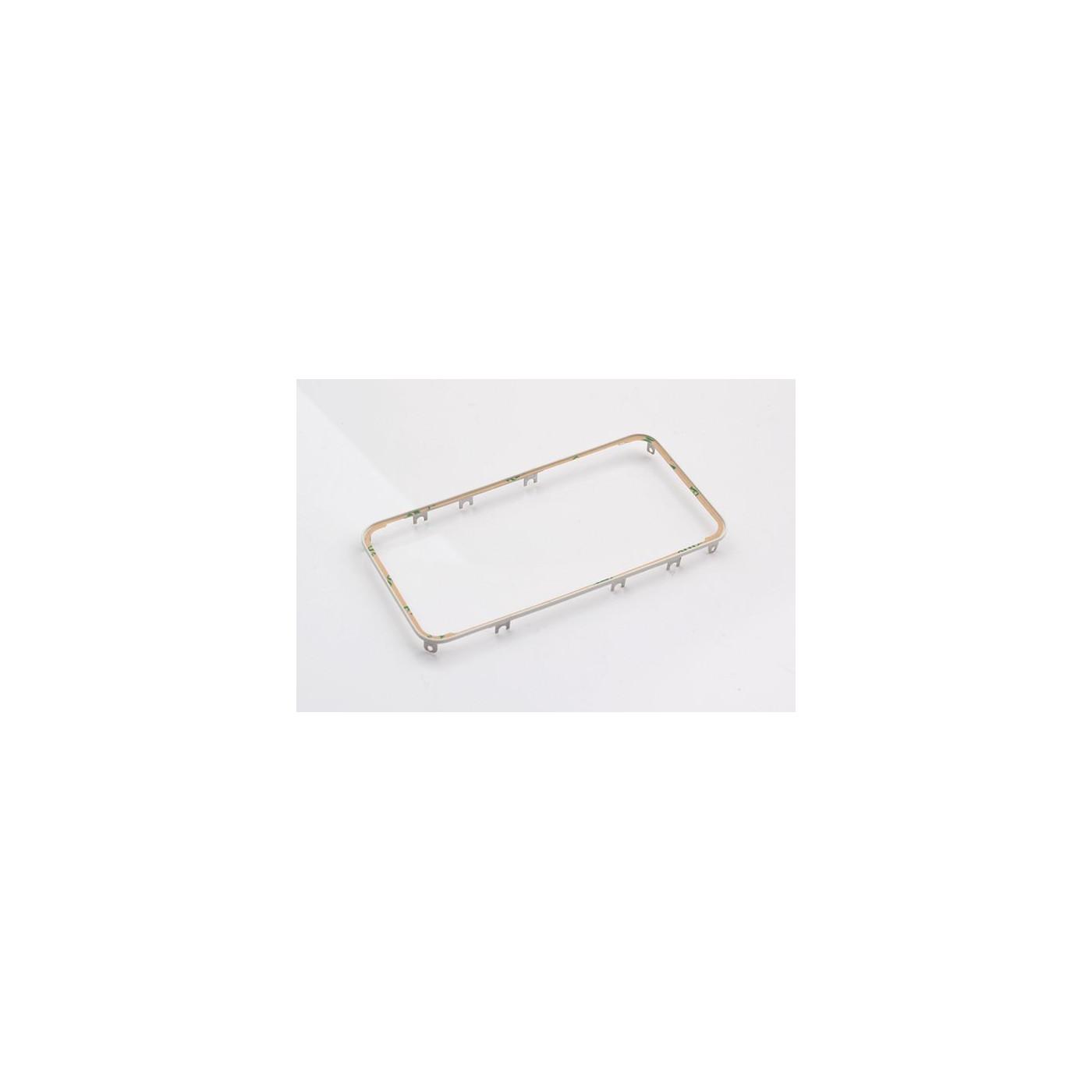 Cadre de numériseur de cadre pour iphone 4 blanc avec autocollant