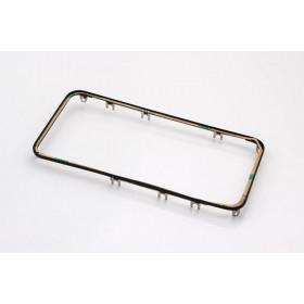 Cornice digitizer frame per iphone 4 nero con adesivo