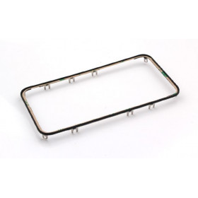 Frame digitizer frame for iphone 4s black with adhesive
