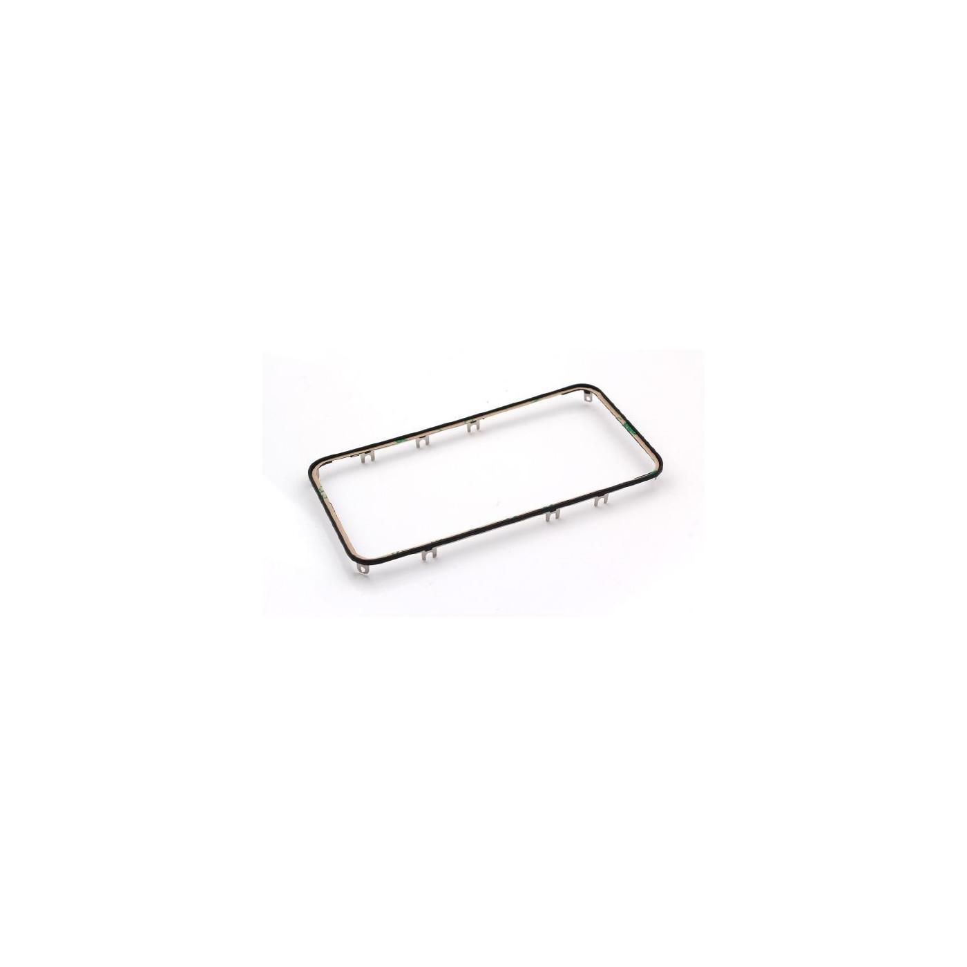 Cadre de numériseur de cadre pour iphone 4s noir avec autocollant