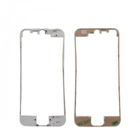 Cornice digitizer frame per iphone 5 bianco con adesivo
