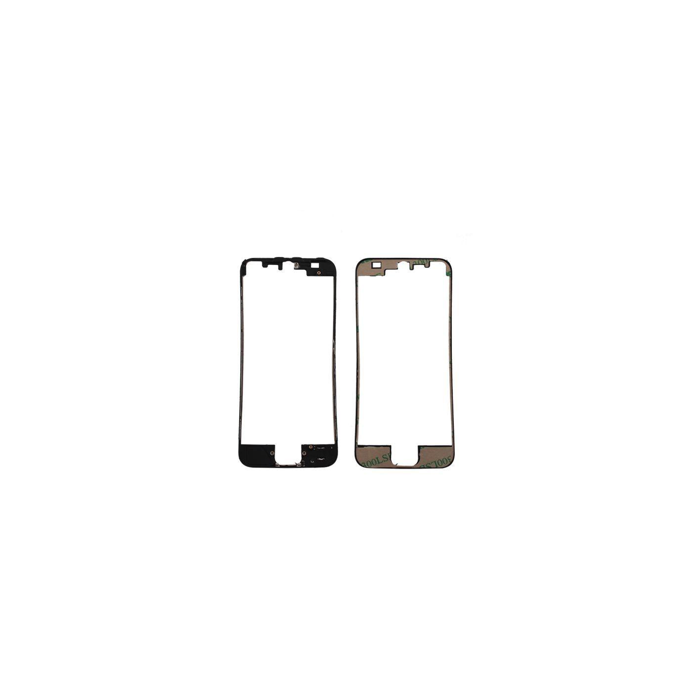 Cadre de numériseur de cadre pour iphone 5 noir avec autocollant