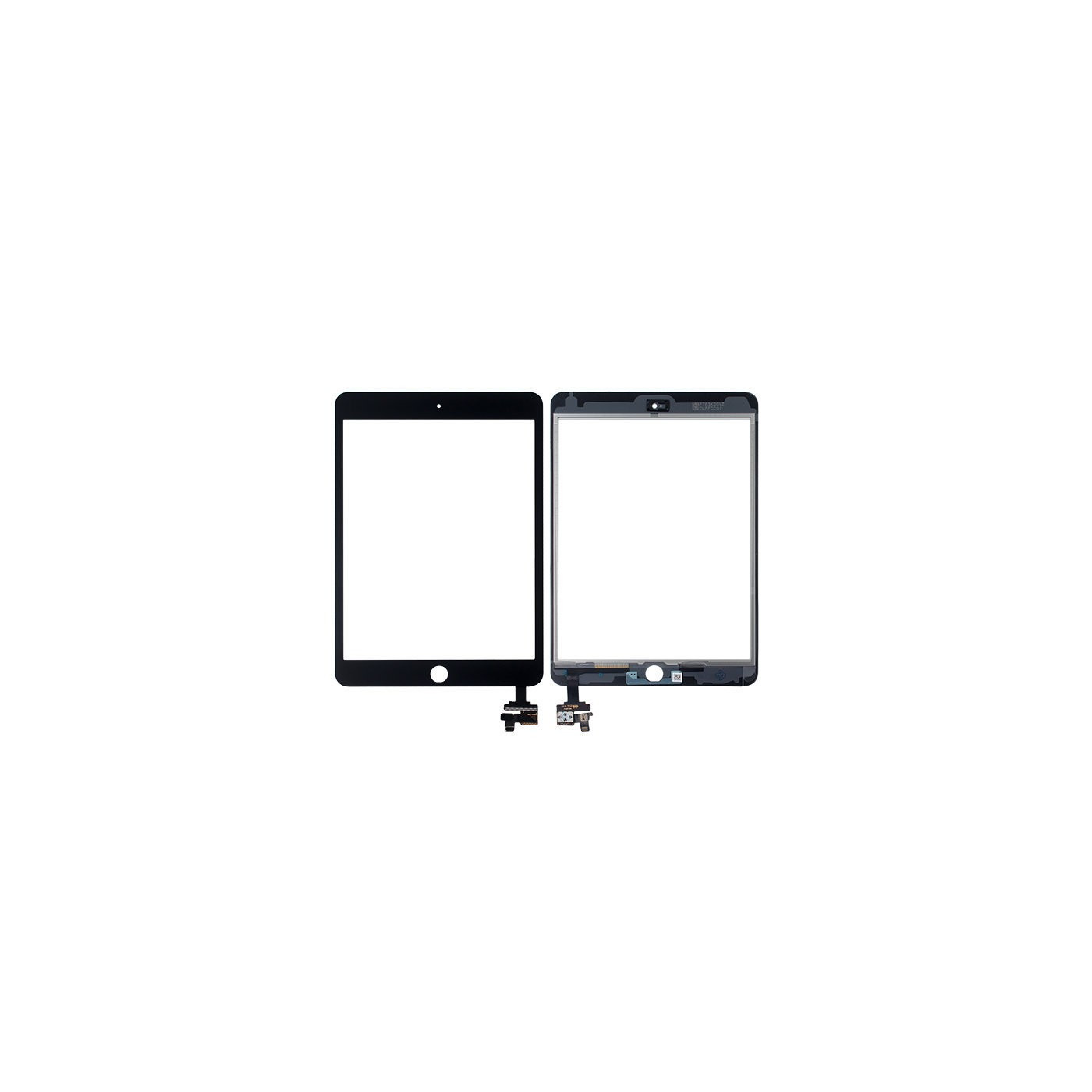 Touch screen per apple ipad mini 3 wifi 3g vetro schermo nero + adesivo