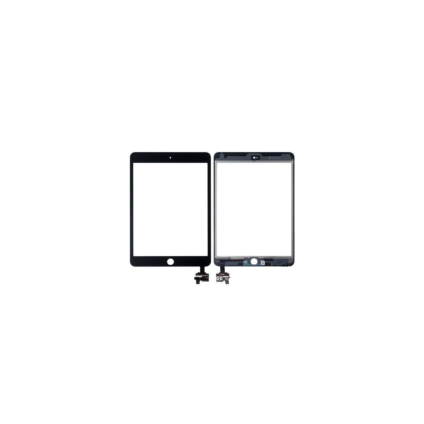 Touch screen per apple ipad mini 3 wifi 3g vetro schermo nero + adesivo