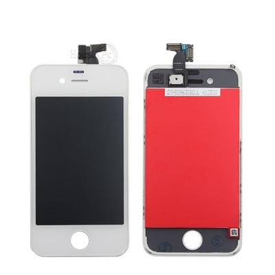 Pantalla Táctil + Pantalla Lcd + Marco Para Apple Iphone 4 Blanco