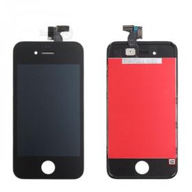 Écran tactile + écran LCD + cadre pour écran en verre noir Apple iPhone 4s