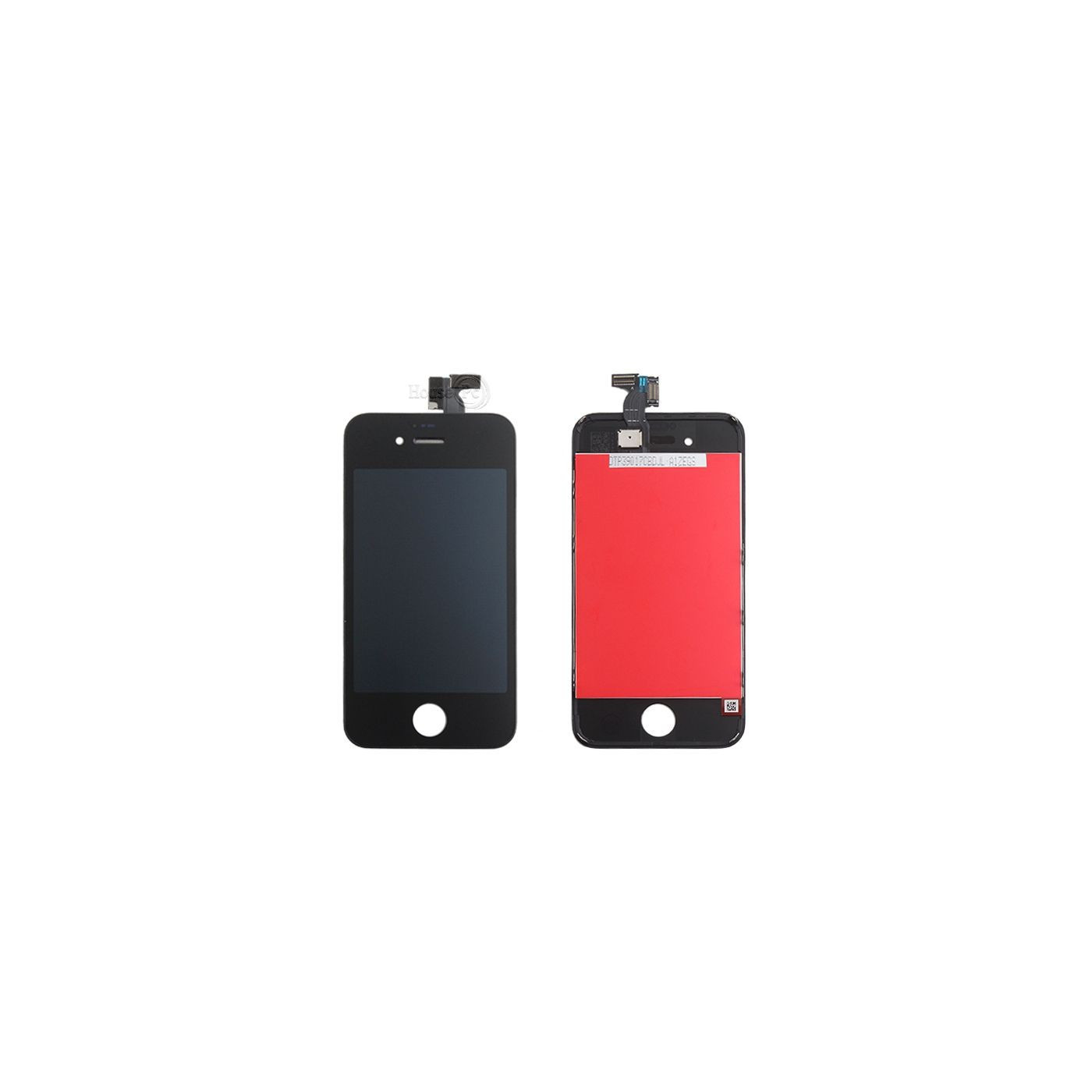 Touch screen + lcd + frame for apple iphone 4s black glass screen