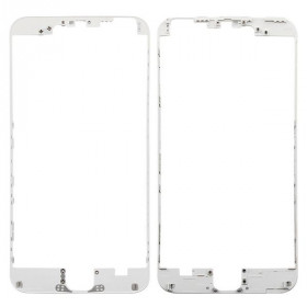 Cornice digitizer frame per iphone 6 plus bianco con adesivo