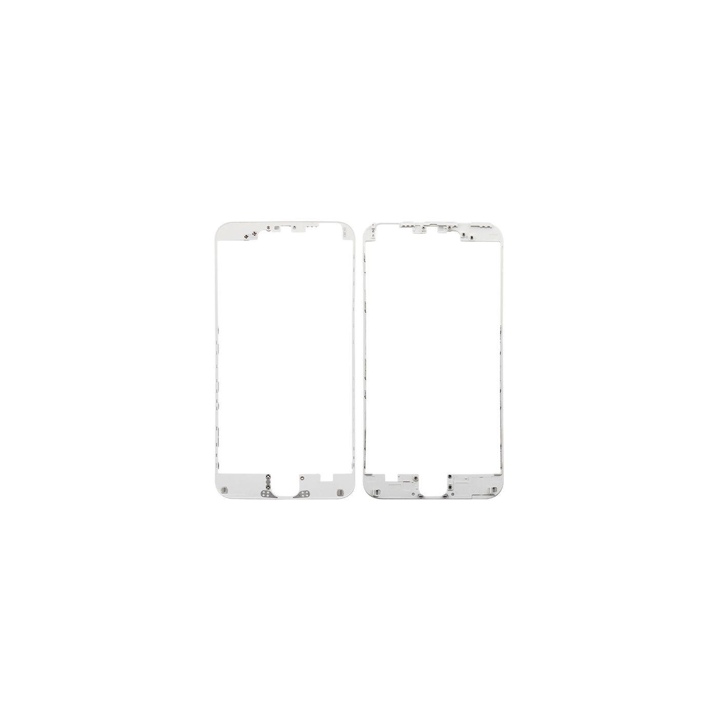 Marco digitalizador de cuadros para iphone 6 plus blanco con adhesivo