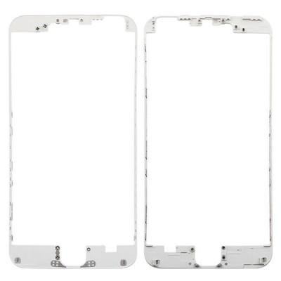 Cornice digitizer frame per iphone 6 plus bianco con adesivo