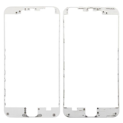 Marco Blanco Para Iphone 6 Plus Con Adhesivo