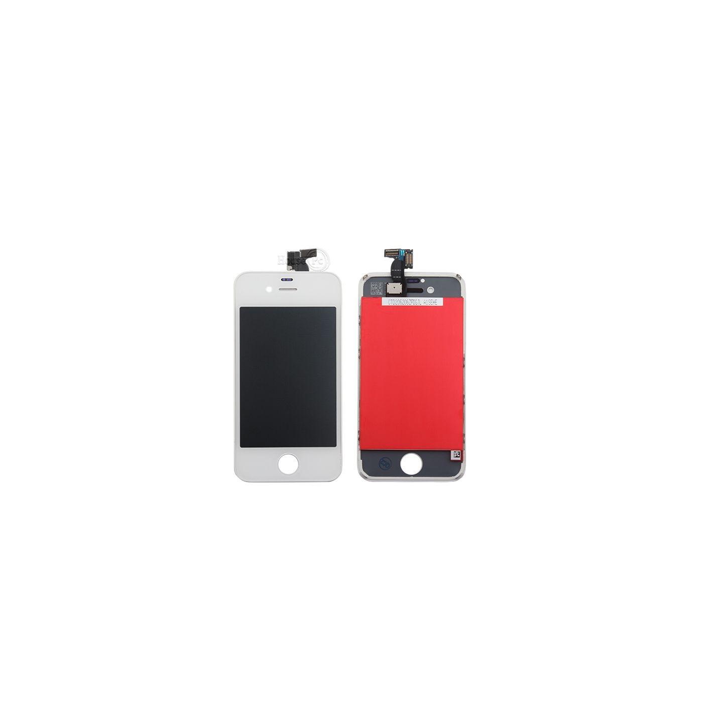 Écran tactile + écran LCD + cadre pour écran en verre blanc Apple iPhone 4s