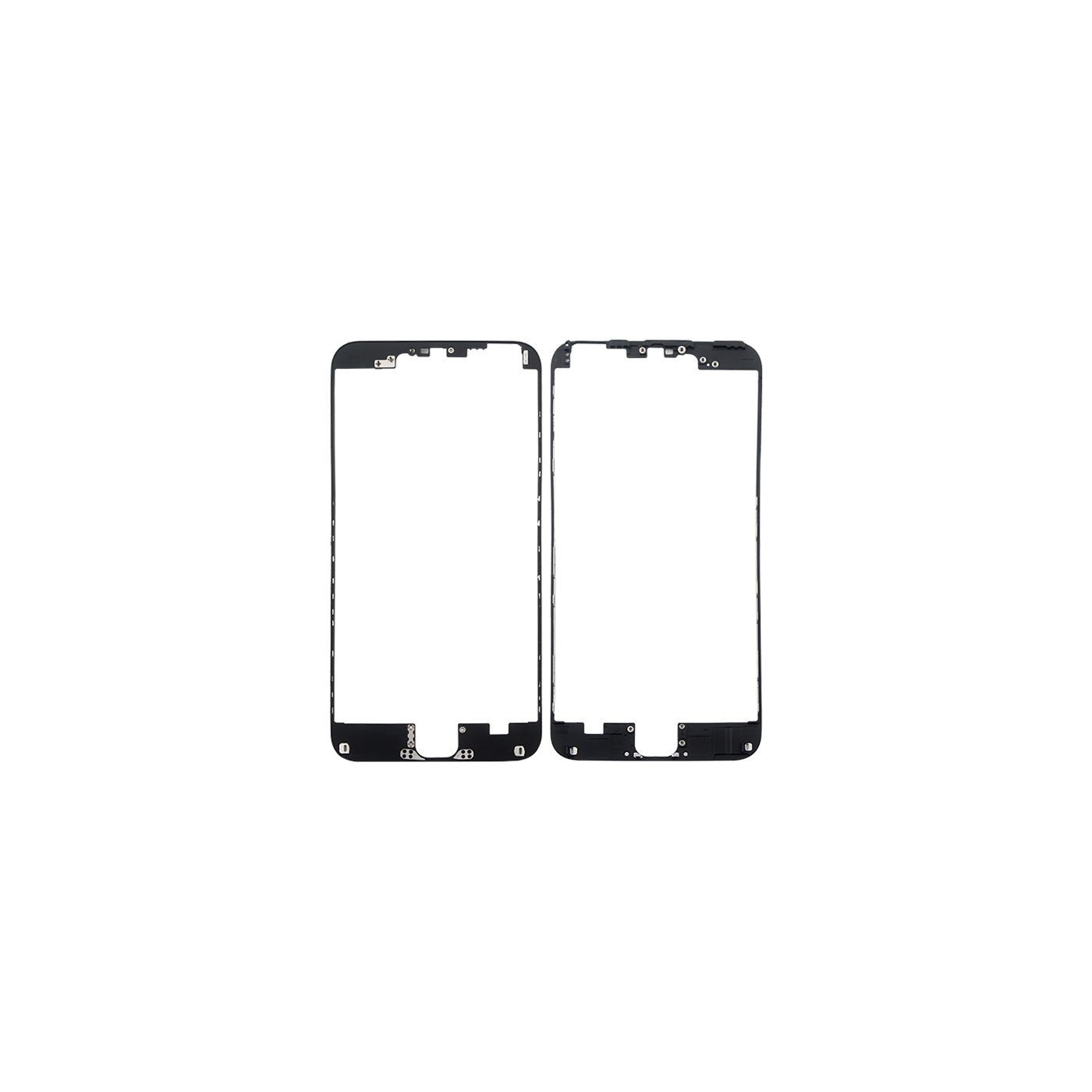 Cornice digitizer frame per iphone 6 plus nero con adesivo