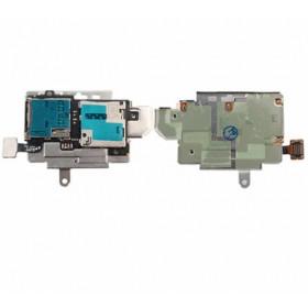 Lector de tarjeta plana Flex Tarjeta Sim Samsung Galaxy S3 GT-i9300 Ranura Micro SD