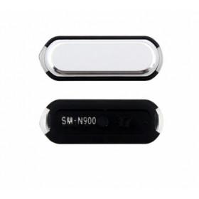 Botón central blanco del menú de inicio para Samsung Galaxy Note3
