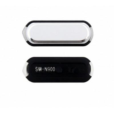 Botón Central Blanco Para Samsung Galaxy Note3