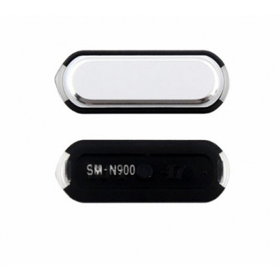 Bouton Central Blanc Pour Samsung Galaxy Note3
