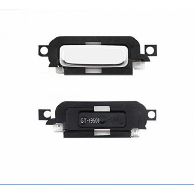 Bouton bouton central blanc pour samsung galaxy s4 i9500 i9505