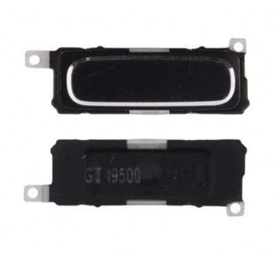 Zentraler schwarzer Hauptknopf - blauer Knopf für Samsung-Galaxie s4 i9500 i9505