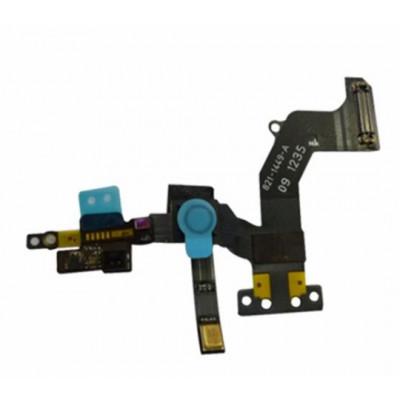 Sensor De Proximidad De Cable Plano + Cámara Frontal Para Iphone 5