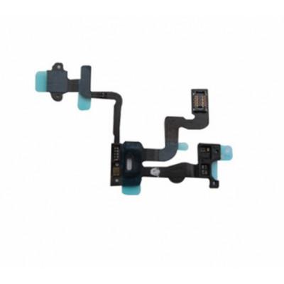 Sensor De Proximidad De Cable Plano + Botón De Encendido Para Iphone 4S