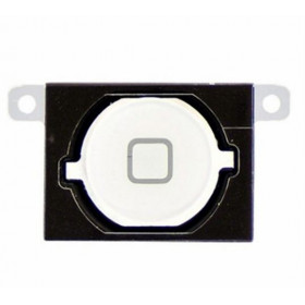 white home button key central button cursor button for apple iphone 4s