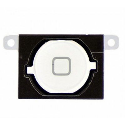 Tasto home bianco button bottone centrale pulsante cursore per apple iphone 4s