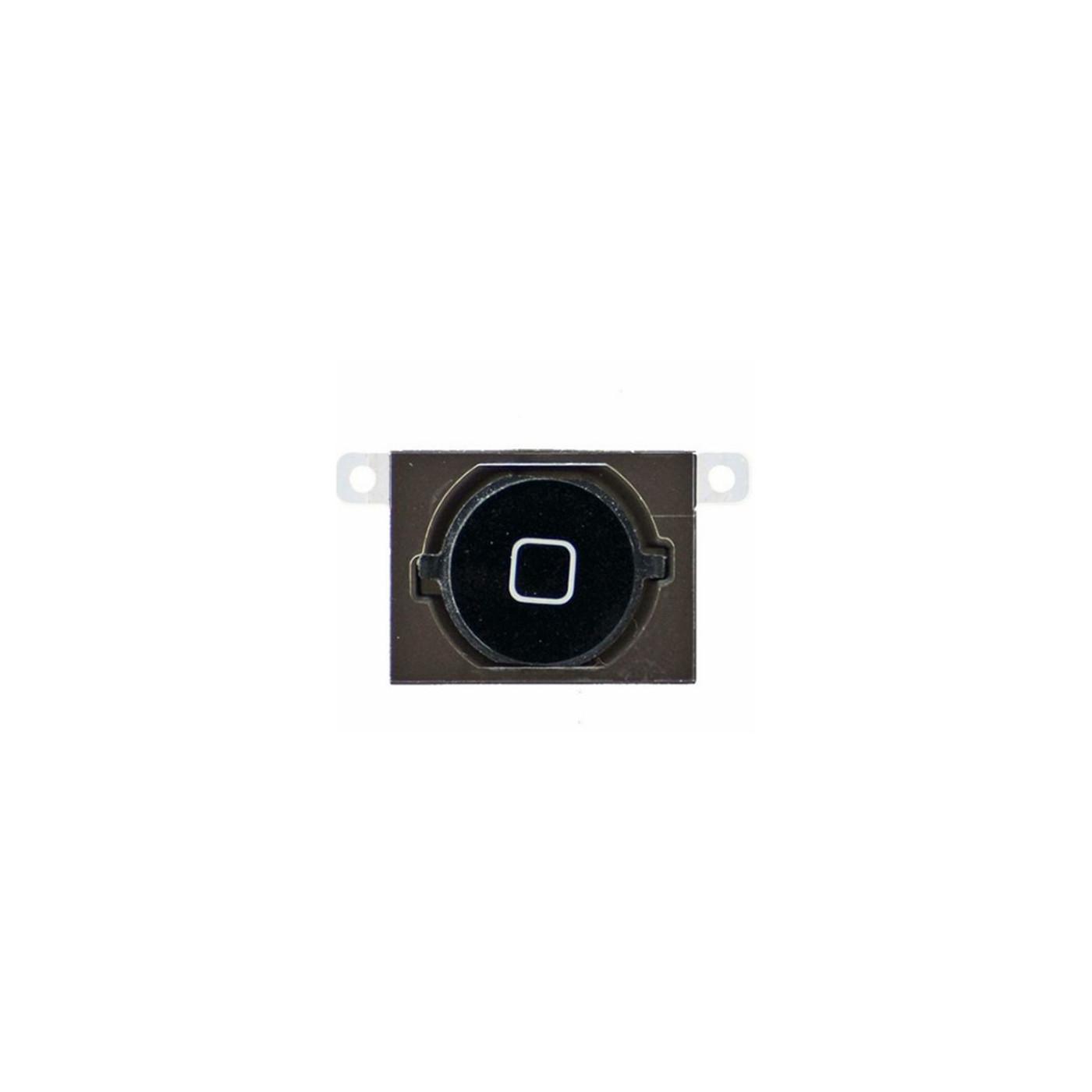 Tasto home apple iphone 4s nero button bottone centrale pulsante cursore