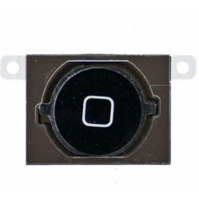 Bouton D'Accueil Pour Iphone 4S Noir