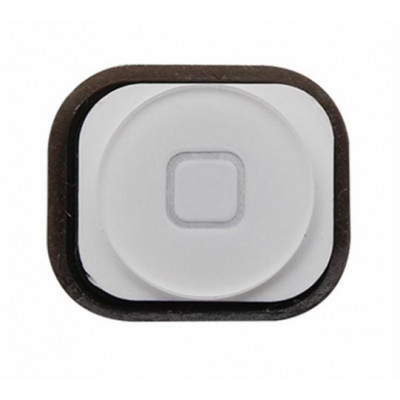 apple iphone 5 white home button key central button cursor button