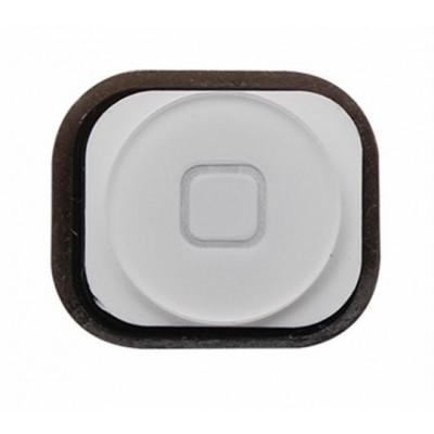 Tasto Home Bianco Per Apple Iphone 5 Button Bottone Centrale Pulsante Cursore