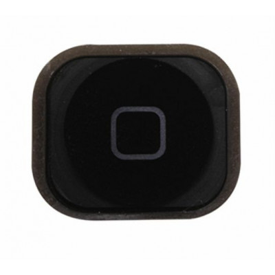 Tasto home button bottone centrale pulsante cursore per apple iphone 5 nero