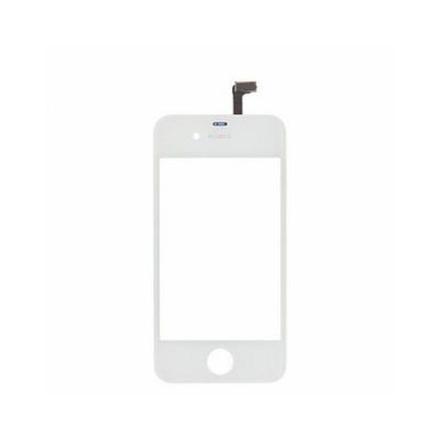 Vetro Touch screen per apple iphone 4 4g schermo bianco + biadesivo