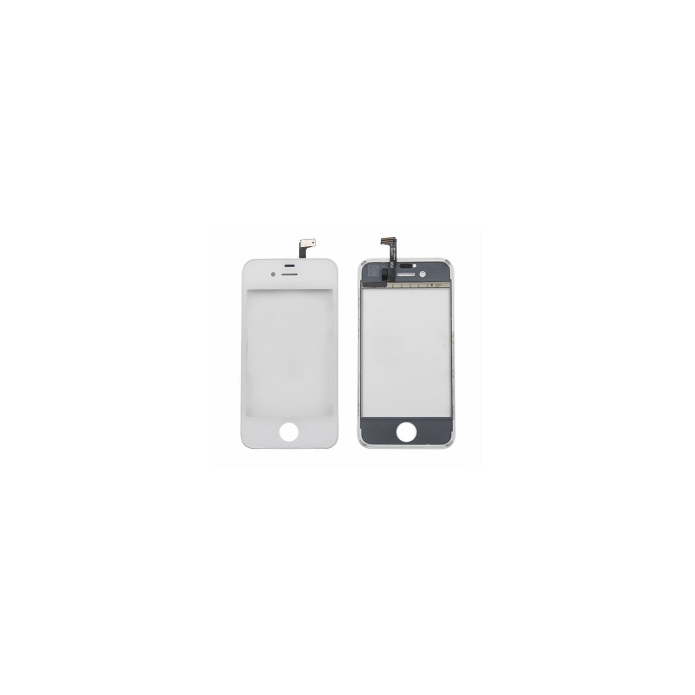 Vetro Touch screen per apple iphone 4 - 4s schermo bianco biadesivo