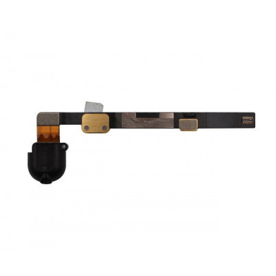 Cable De Auriculares Jack Plano Para Ipad Mini Negro