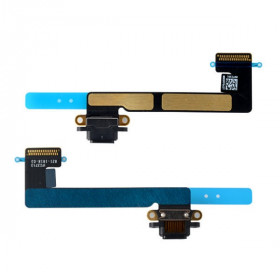 Conector de carga negro flex plano para Apple iPad Mini 2 dock