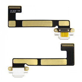 Conector de carga plana y flexible para Apple iPad Mini 2 White Dock