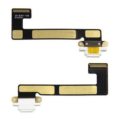Conector de carga plana y flexible para Apple iPad Mini 2 White Dock