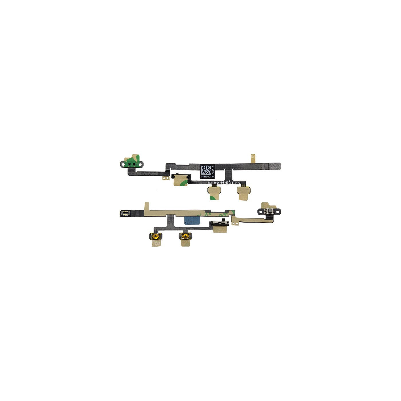 FLAT FLEX PER iPad Mini 2 TASTO TASTI PULSANTE VOLUME MUTO POWER ON OFF