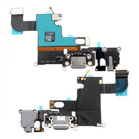 Flacher Flexladeverbinder für iphone 6 graues Audiodockmikrofon
