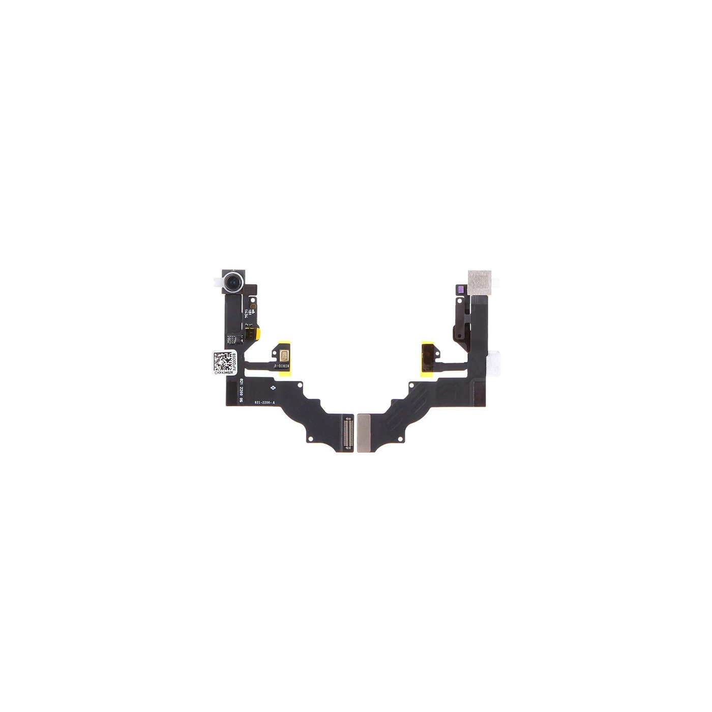Flat flex fotocamera frontale per Apple iPhone 6 Plus con sensore luminosita camera