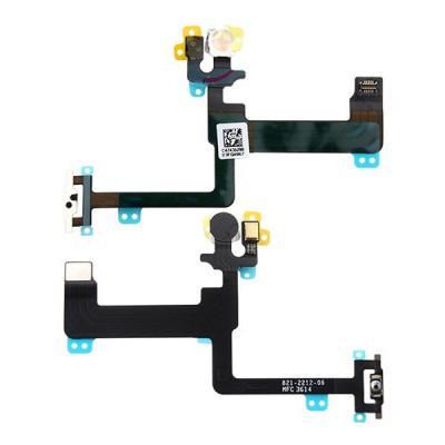 Cavo Flat Per Apple Iphone 6 Plus Tasto Pulsante Power On Off Flash Microfono
