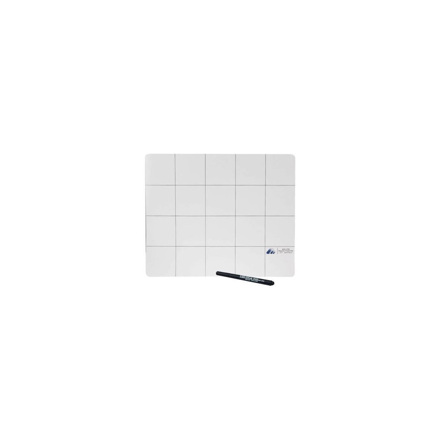 Tappeto magnetico con pennarello nero per riparazione Iphone Samsung