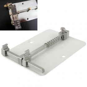 Support for board repair pcb iphone samsung mobiles in stainless steel BAKU